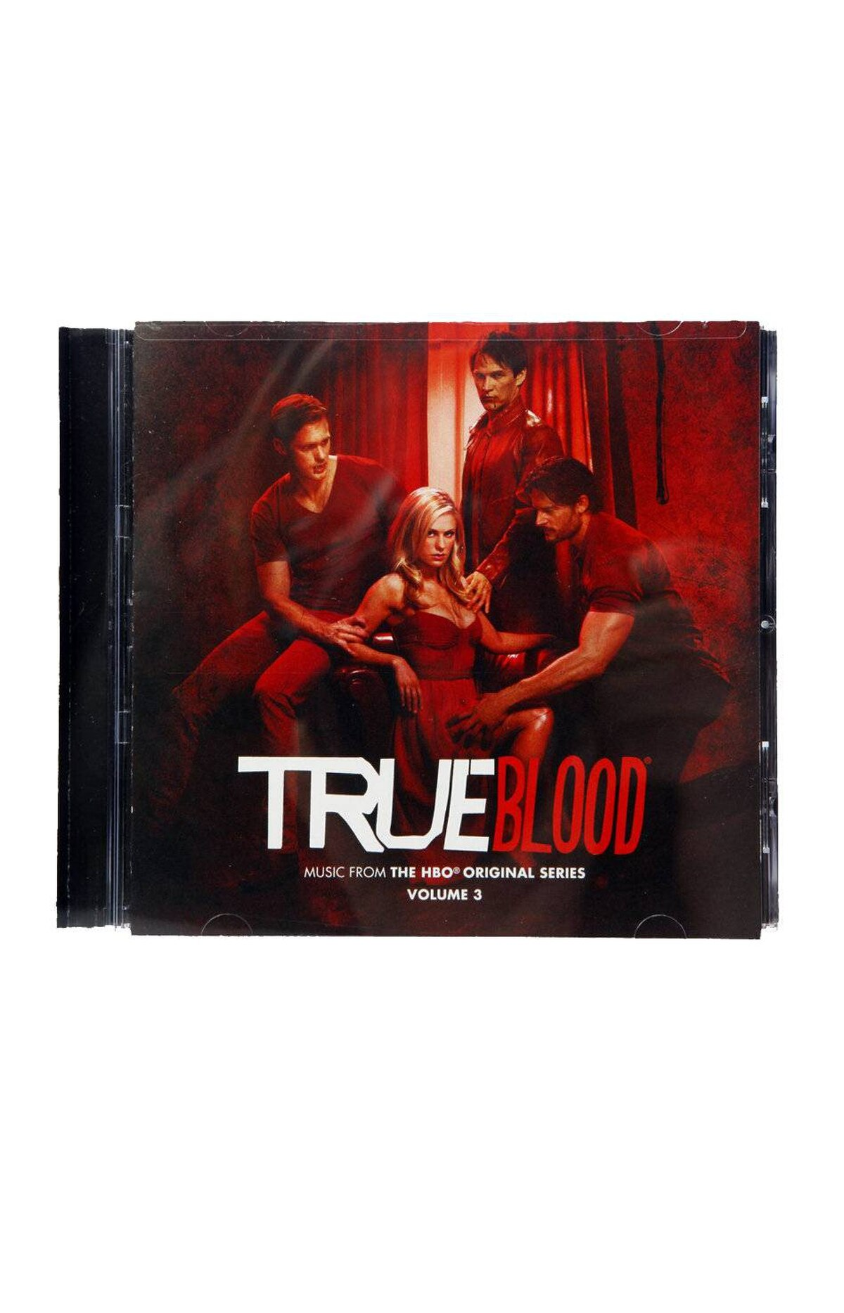 True Blood: Music from the HBO Original series, Vol. 3 True Blood isn't only about cool vampires and sexy shenanigans. The music is particularly well-chosen. This soundtrack collection has some absolute gems, including a rarely heard version of 9 Crimes by Damien Rice and the surreal, throbbing cover of the Zombies's She's Not There by Neko Case and Nick Cave ($15.95 at amazon.ca)
