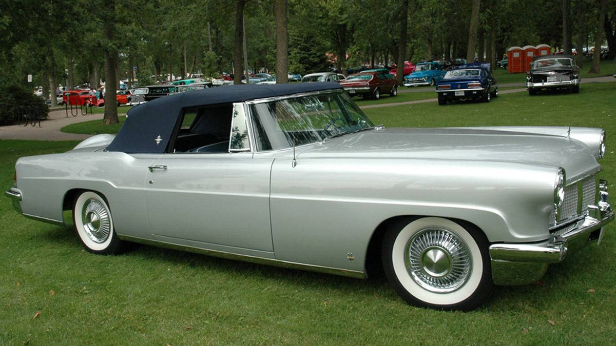 Jim Cooper's 1956 Continental Mark 2 Convertible.