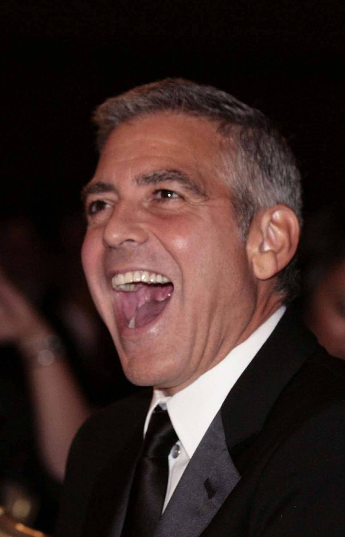 And George Clooney had a really, really good time.