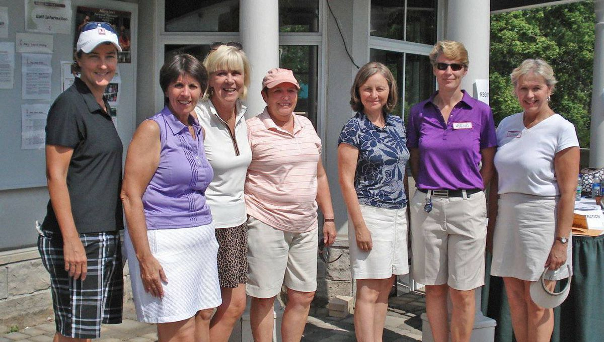 Members of the Ladies' Golf Club of Toronto are united by a love of golf and helping others.