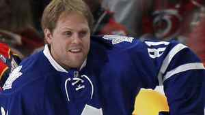 Toronto Maple Leafs forward Phil Kessel hints at Sunday practice that he and coach Ron Wilson have a rocky relationship. REUTERS/Ellen Ozier