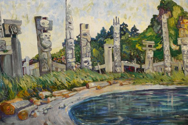 Rare Emily Carr painting cleared to leave Canada despite error on export permit