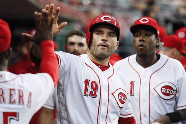 Joey Votto refining his swing in bid to rebound from 2018 campaign