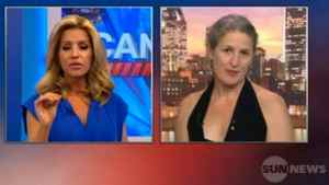 Sun News host Kirsta Erickson interviews interpretive dancer Margie Gillis on June 1, 2011.
