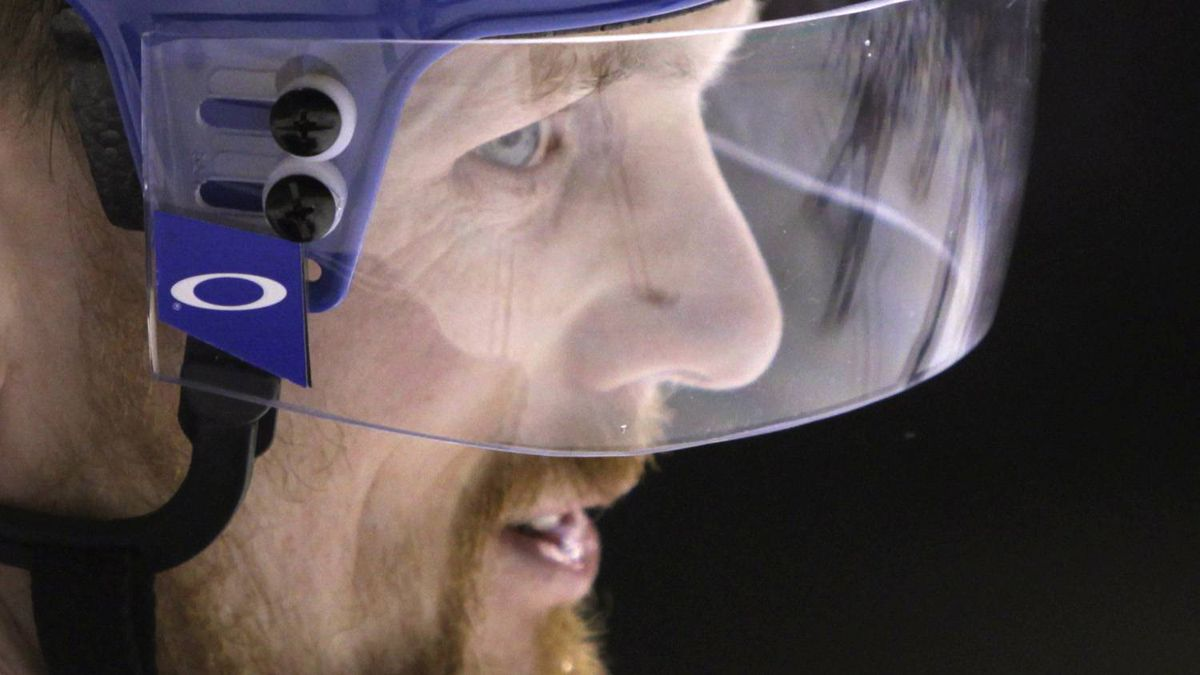 Daniel Sedin and the Vancouver Canucks are just the latest top seed to melt down in the NHL playoffs. REUTERS/Ben Nelms