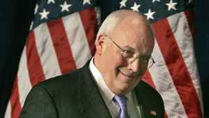 U.S. vice-president Dick Cheney addresses the Conservative Political Action Conference in Washington on March 1, 2007.