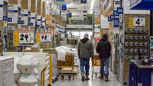 Shoppers at Rona at Dix30 in Brossard, Quebec on April 8, 2008. For Business.