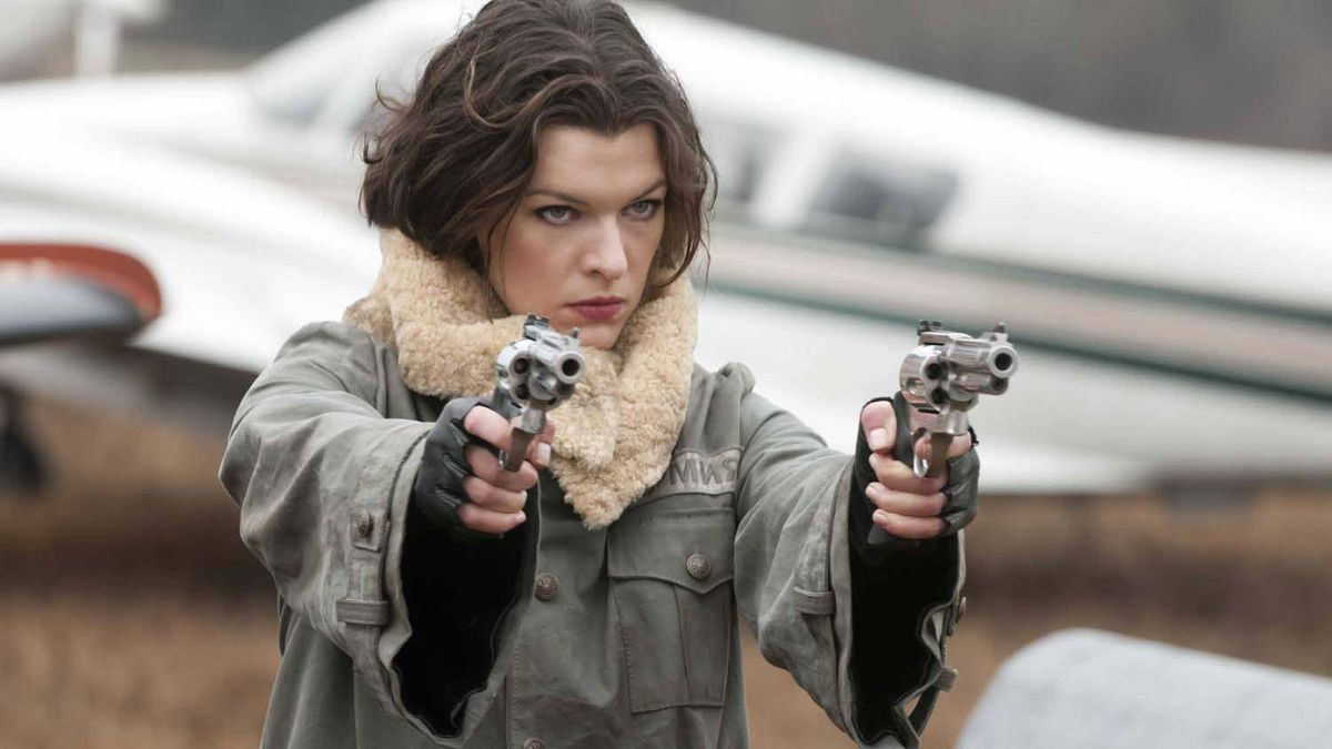 Milla Jovovich in Resident Evil: Afterlife