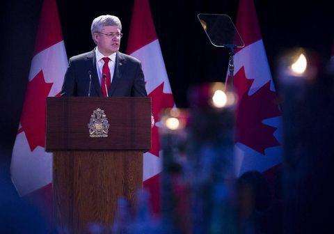 Harper goes on full-scale verbal attack against 'evil' communism