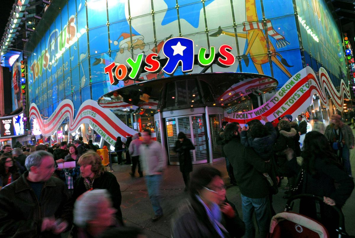 Toys 'R' Us stores may be closing, but the brand name will live on