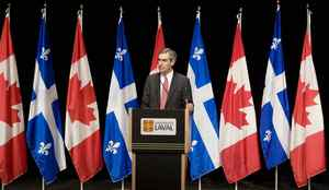 Liberal Leader Michael Ignatieff speaks about the environment on Thursday, Nov. 26, 2009, at Laval University in Quebec City.