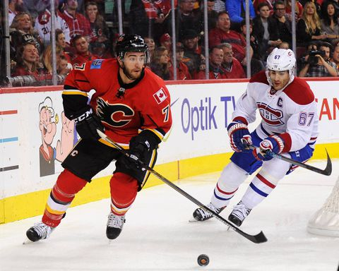 Fizzling Flames sparked by unexpected return of defenceman T.J. Brodie