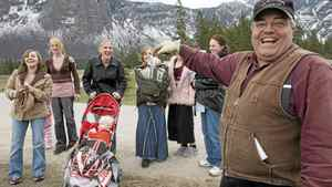 Winston Blackmore the religious leader of the polygamous community of Bountiful, B.C. shares a laugh with six of his daughters and some of his grandchildren, in this April 21, 2008 photo.