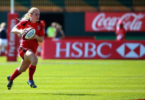 Canadian women finish third at World Rugby Women's Sevens Series