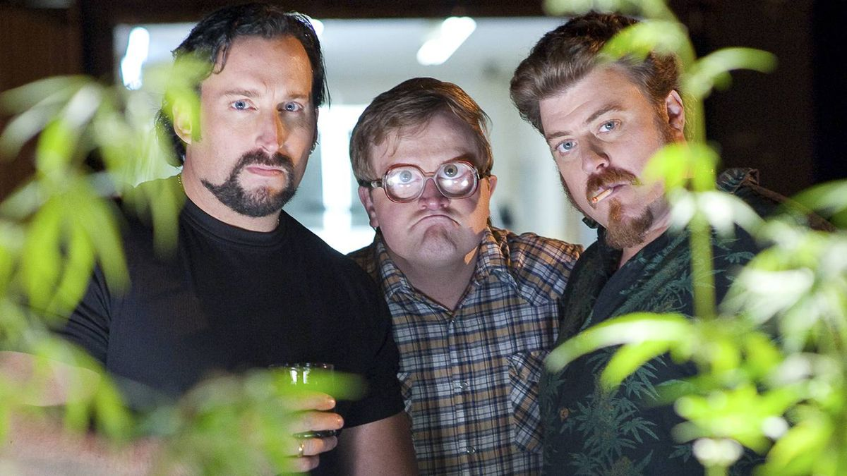 Robb Wells, John Paul Tremblay and Mike Smith star in TRAILER PARK BOYS COUNTDOWN TO LIQUOR DAY.