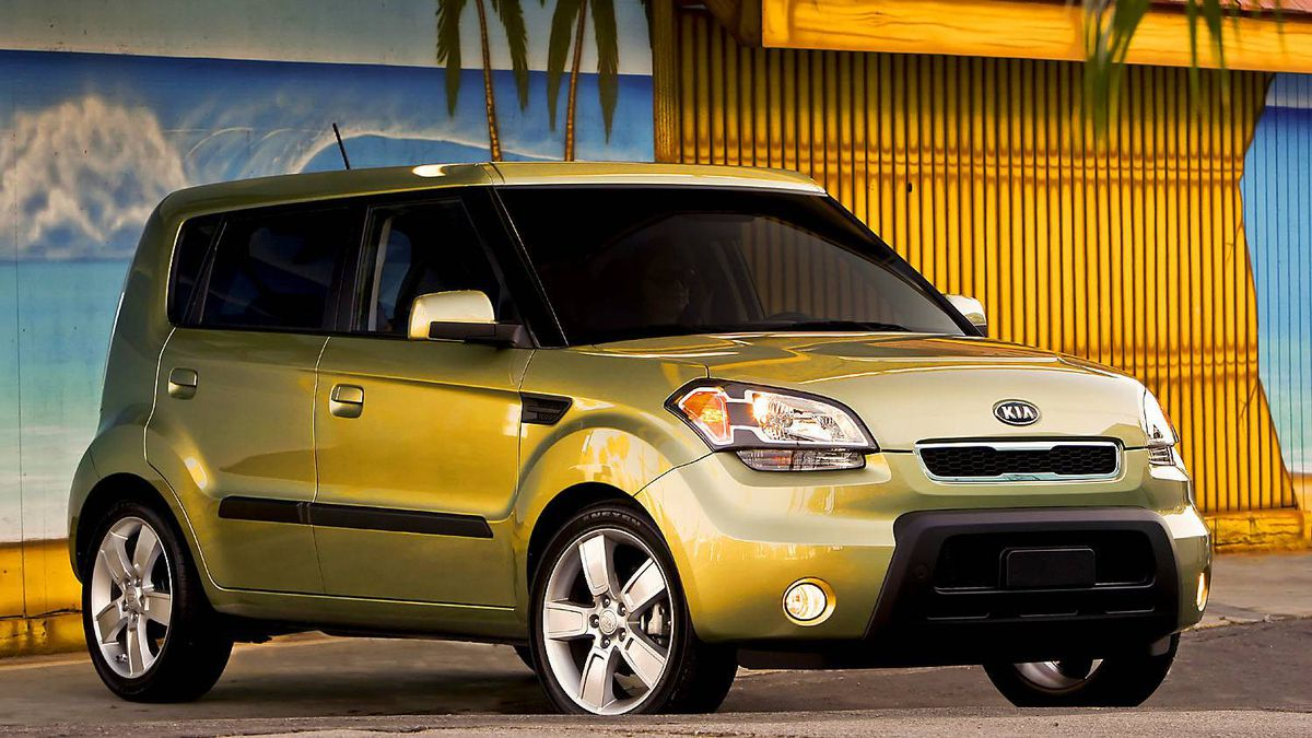 2011 Kia Soul: The boxy Soul is a very interesting design and quite functional ? and safe.