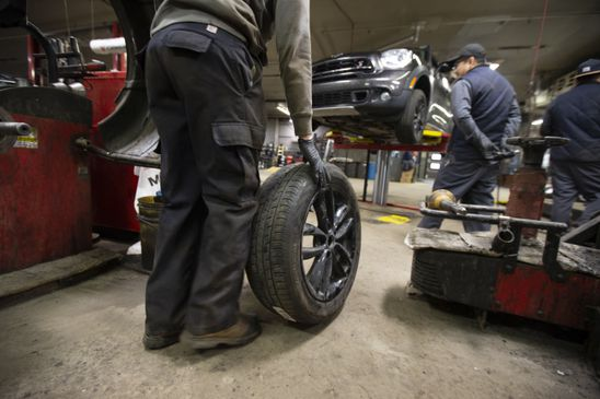 Still planning on getting winter tires changed? Auto mechanics struggle with decision over whether to close
