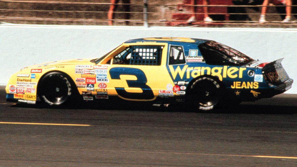 Dale Earnhardt's 1986 NASCAR Monte Carlo SS Aero Coupe