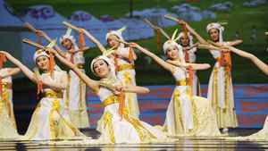 A performance by Shen Yun Performing Arts.