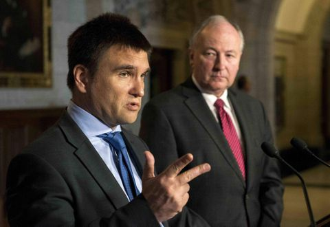 Ukraine minister wants Canada to send peacekeepers in conflict with Russia