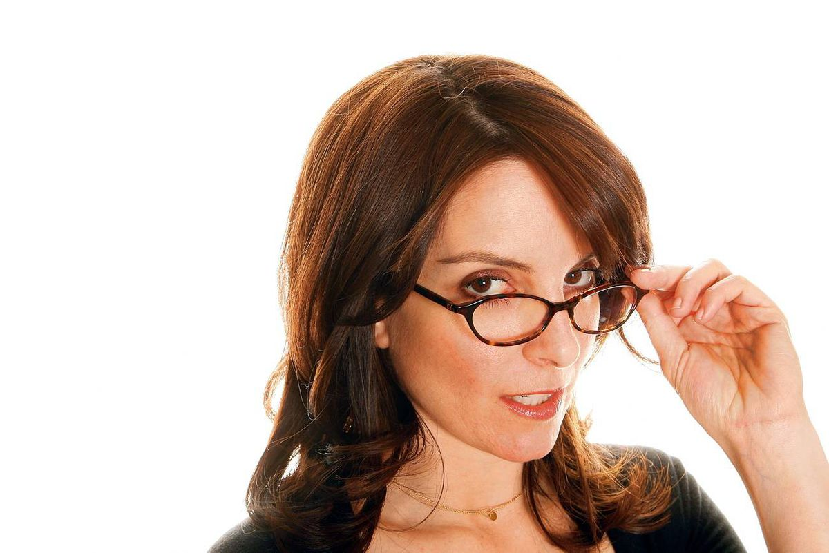 Comic actress Tina Fey says she kept her virginity until she was 24. Before that, she 'couldn't give it away' because she was 'homely.'