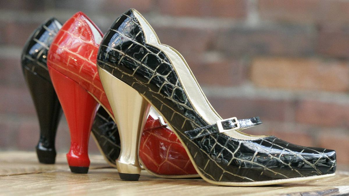 Fluevog shoes.