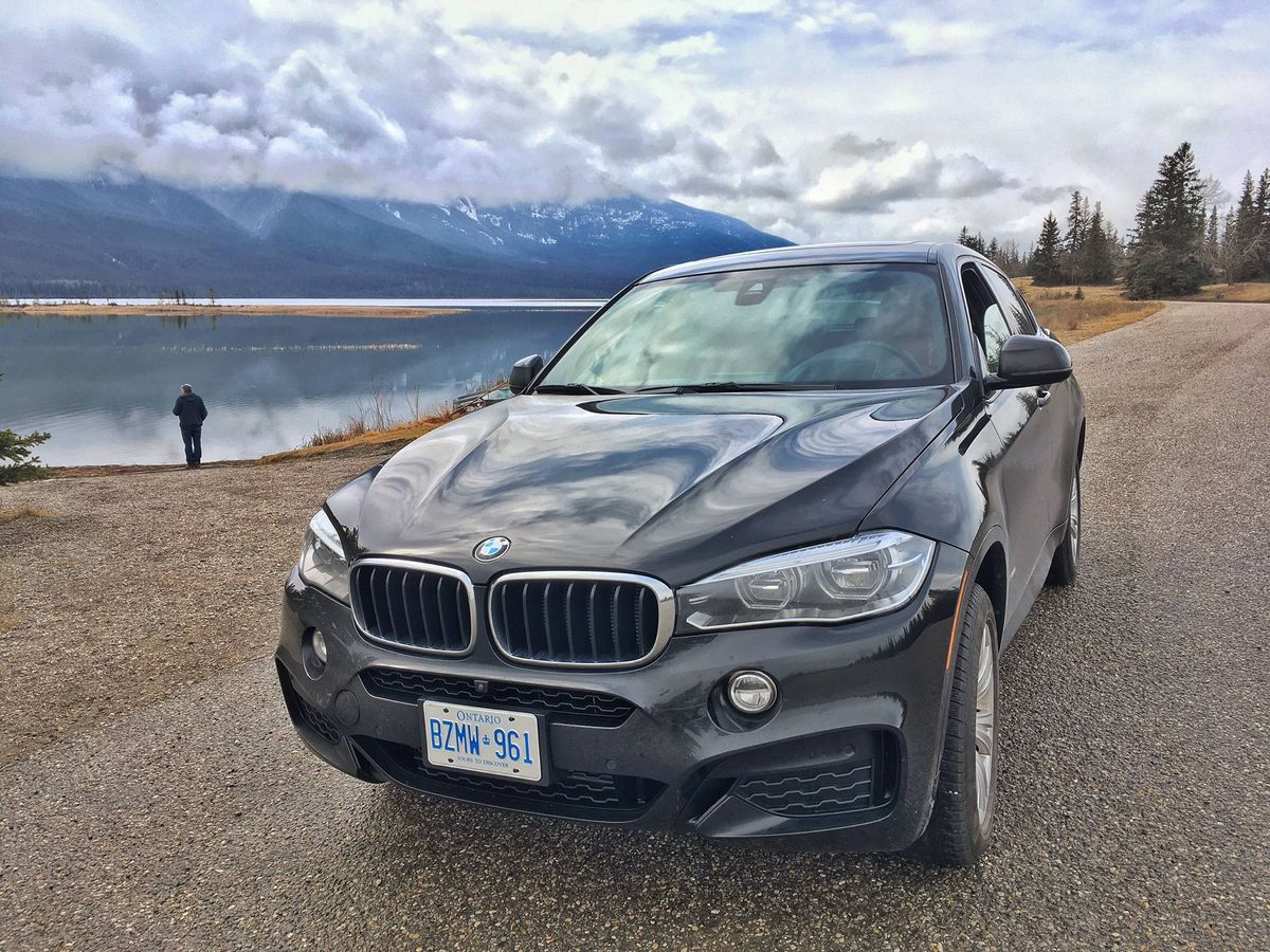 Driving The Icefields Parkway Through The Rockies In A Bmw X6 The Globe And Mail