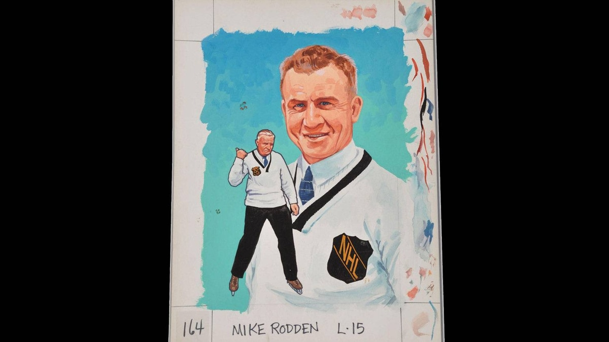 Mike Rodden coached the Toronto Maple Leafs for two games only in 1927. He was bettern known as a referee.