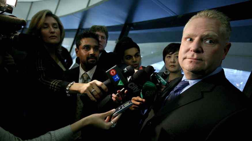Toronto councillor Doug Ford, brother of Mayor Rob Ford.