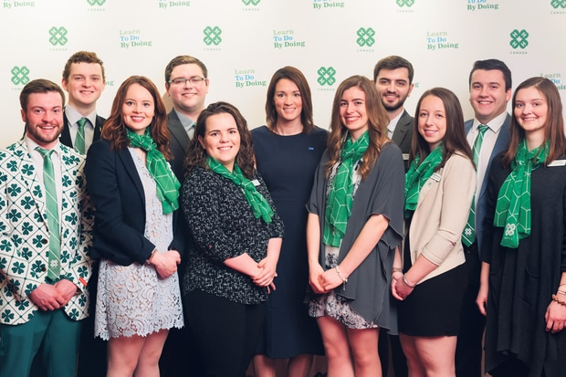 One of the ways BASF is working to ensure public trust in the long term is by investing in today's youth leaders, like 4-H Canada's Youth Advisory Committee