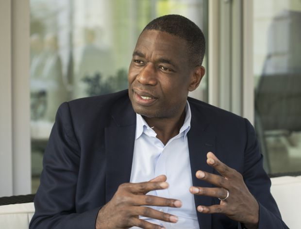 As Ebola outbreak grows, authorities turn to basketball great Dikembe Mutombo to spread health message