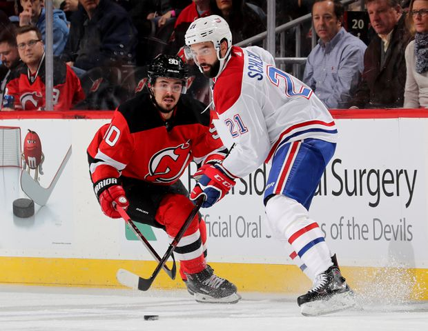 reputable site 7dc41 1b408 Montreal Canadiens lose 5-2 to New Jersey Devils - The Globe ...
