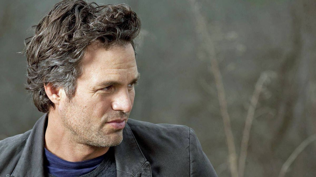 Mark Ruffalo on the bank of the Delaware River in Callicoon, N.Y., April 15, 2011.