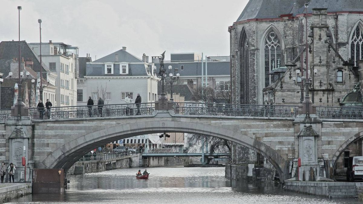 Don Zeghers, Holland, Man.: A winter day in Ghent, Belgium