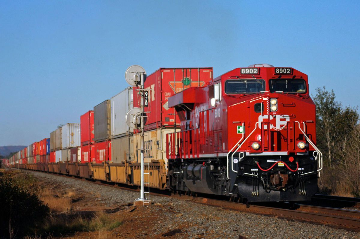 CP ranks as the least efficient of North America's Big Six railways, with operating costs equalling 82.4 per cent of its revenue in the first nine months of 2011.