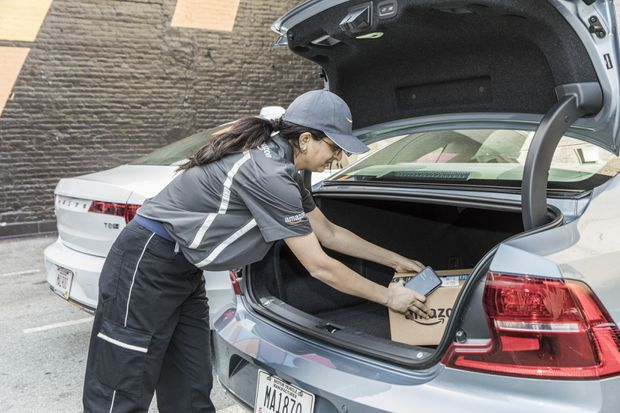 to beat porch thieves amazon slips packages in car trunks the