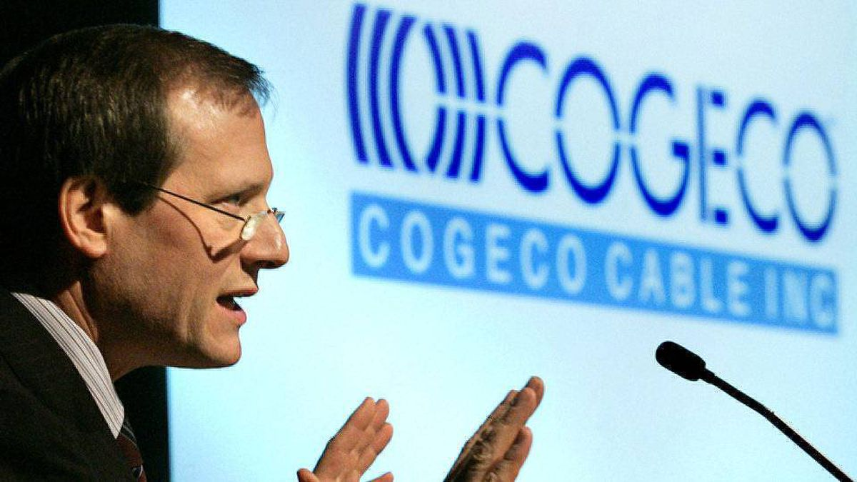 Cogeco Cable Inc. president and CEO Louis Audet