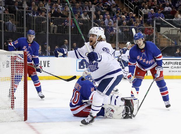 Scoring in Bunches: Maple Leafs outscore Hurricanes 8-6 in wild matinee