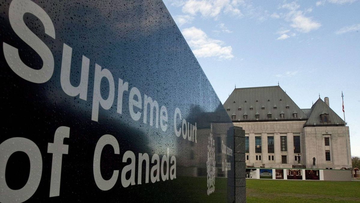 The Supreme Court of Canada in is shown on October 7, 2010.