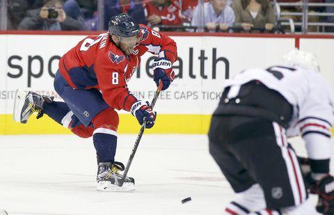 Capitals superstar Alex Ovechkin reviving NHL's lost art of goal scoring