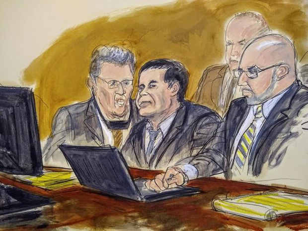 El Chapo trial: Jury deliberations to resume Monday