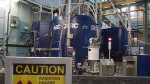 A nuclear reactor at the Atomic Energy Canada Limited plant in Chalk River, Ont., in December, 2007.
