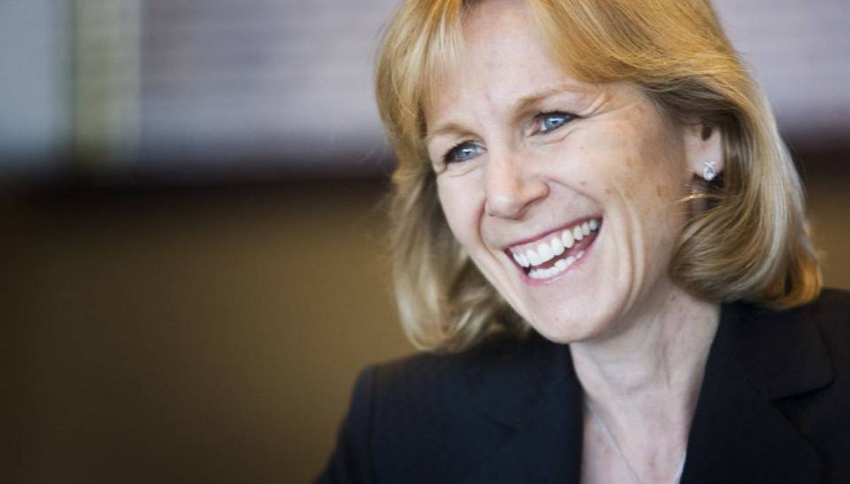 Cynthia Devine, the CFO of Tim Hortons and co-winner of the CFO of the Year award, says the doughnut chain's corporate culture is unique. ASHLEY HUTCHESON FOR THE GLOBE AND MAIL