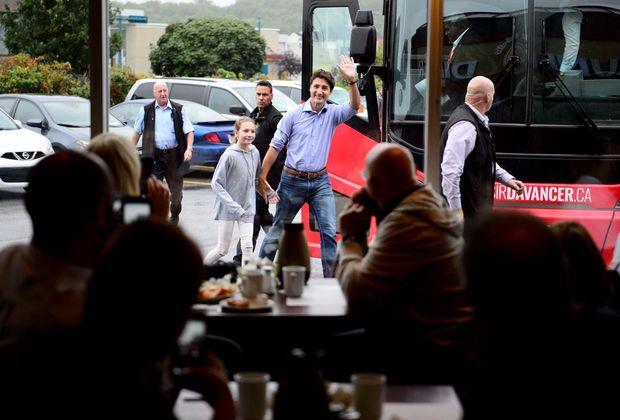 Quebec voters challenge Liberal Leader Justin Trudeau over his stance on Bill 21
