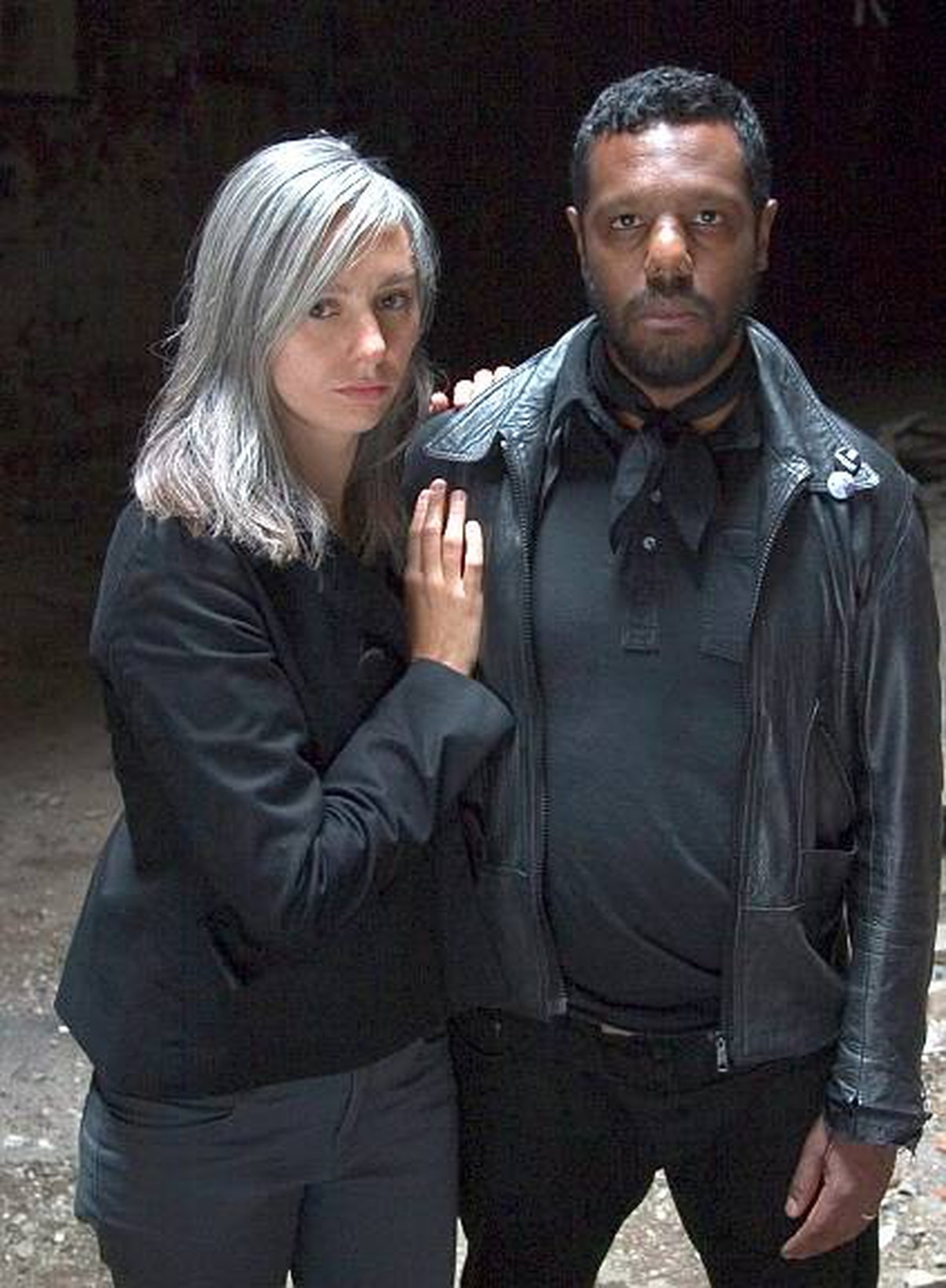 Keyboardist and singer Natalia Yanchak of Montreal band The Dears has naturally grey hair and welcomes the fact that young people are starting to embrace the shade.