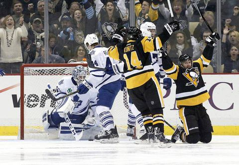 Penguins take out Leafs in overtime thriller