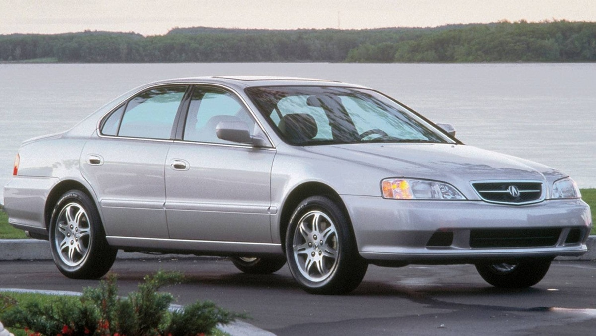 The 1999 TL. The TL was the first vehicle with dual-stage driver and passenger side airbags.