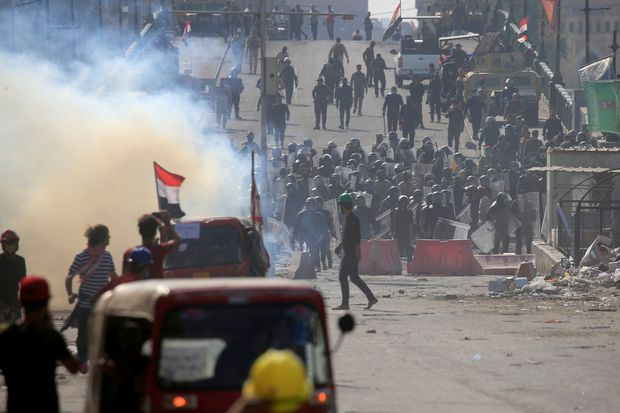 Gunmen shoot dead 5 protesters in southern Iraqi city