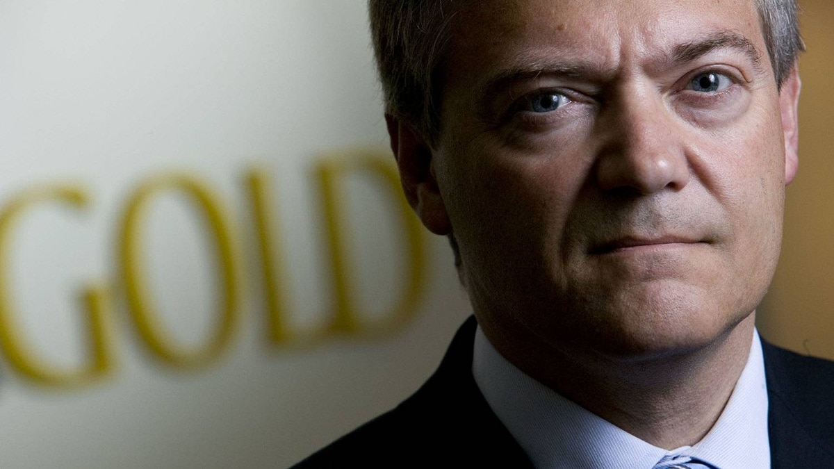 No. 8. Peter Marrone, chairman and ceo of Yamana Gold photographed in his office in downtown Toronto. Mr. Marrone received a bonus of $3,859,280 in 2010.