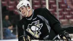 Sidney Crosby skates during practice in Sunrise, Fla., Jan. 13, 2012.